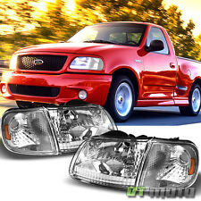1997-2003 Ford F-150 F150 Expedition Headlights+Corner Lights Signal Lamps 97-03