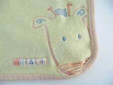 Carter's Child of Mine Giant Giraffe Yellow Baby Blanket Security Blanket