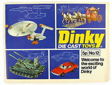 Dinky Toys Catalogue No.12 1976 * Ex-Shop Stock *