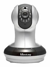 Vimtag VT-361 Super HD WiFi Video Monitoring Surveillance Security Camera Plu...