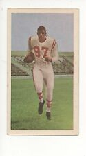 1954 Blue Ribbon Tea Canadian Football Card #56 Eddie Macon-Calgary Stampeders
