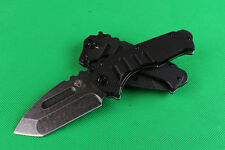 8.5''NEW Stone Wash Blade G10 Handle High quality folding knife Z11