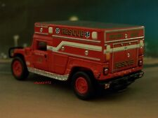 ATLANTIC BEACH , NY OFF ROAD RESCUE HUMMER AMBULANCE 1/64 COLLECTIBLE MODEL