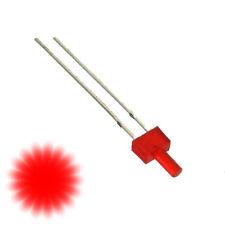 S780 - 10 Stück Blink LED 2mm rot diffus Tower langer Kopf Flash Blinklicht