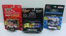 Lot of 3 Diecast racing cars. Dale Earnhardt, Michael Waltrip NASCAR NEW sealed