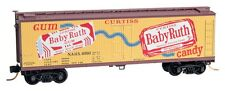 Baby Ruth #1 Nestle 40' Wood Reefer Box Car Micro-Trains MTL# 049 00 710 N-Scale