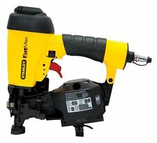 "Stanley FatMax 7/8 to 1-3/4"" Pneumatic Coil Roofing Nailer! Nail Gun Inch Air"