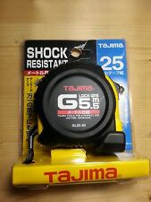 TAJIMA G-Lock Rubber-Grip Automatic TAPE MEASURE GL25-55 5.5M 25mm