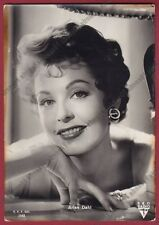 ARLENE DAHL 08 ATTRICE ACTRESS CINEMA MOVIE STAR Cartolina FOTOGR. - DEFECTS !!!