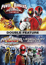 Power Rangers Double Feature: Clash of the Red Rangers/The Legendary Battle...