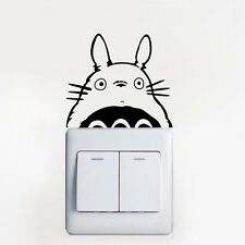 TOTORO Decal // Switch / Light / Wall / Decor / Vinyl / Sticker / Modern / Geek