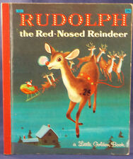 Little Golden Books--Rudolph the Red-Nosed reindeer,Adapted from Robert May 1958