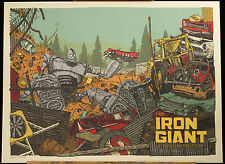 Landland The Iron Giant #131/200 Signed Mondo Mondocon Poster Print