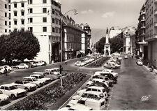 CHAMBERY 1781 boulevard de la colonne et fontaine des éléphants voitures