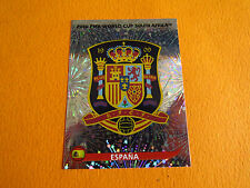 563 BADGE ESPAÑA ESPAGNE PANINI FOOTBALL FIFA WORLD CUP 2010 COUPE DU MONDE