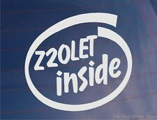 Z20LET INTÉRIEUR Fantaisie Vinyle Auto/Fenêtre/Autocollant Pare Choc Vauxhall/