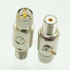 1pce surge protector Lightning Arrestor UHF PL259 SO239 M to F 0-3GHz DC-230V