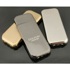 Dolphin Slim Flint Normal Flame Butane Gas Refillable Cigar Cigarette Lighter
