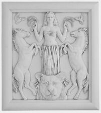Semitic Goddess of Animals Modern Astarte Pagan Wiccan Plaque #ASP