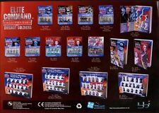 Elite Command Die Cast Soldiers Promotional Trade Sell Sheet #8348
