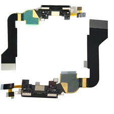 Negro genuino Iphone 4s Dock Asamblea Mic sync/charging Usb Flex Cable Original