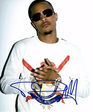 TI Signed Autographed 8x10 Photo Rapper Live Your Life