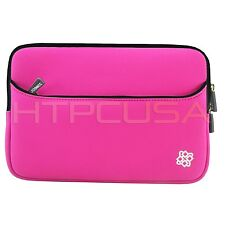 "KOZMICC 7"" Pink Neoprene Sleeve Pouch Case for eMatic eGlide Reader 2 Tablet"