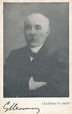 POSTCARD  PERSONS  POLITICS  FRANCE  Mon  Georges Clemenceau