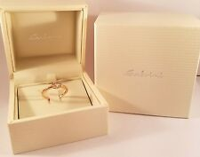 Salvini 18 kt Rose Gold Ring with Diamonds New Final Sale !!!!!!!!!!MSRP $2,640