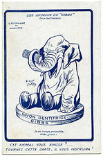 JACQUES NAM.ELEPHANT.ADVERTISING GIBBS.PUBLICITE.SAVON DENTIFRICE.ANIMAUX.