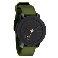 Nixon A3171089 Women's The Raider Black Dial Green Silicone Rubber Strap Watch