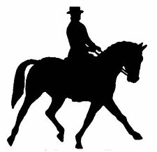 DRESSAGE HORSE STICKER DECAL BRAND NEW FOR CAR, FLOAT, TACK BOX, 4WD, UTE #H16