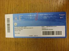 20/02/2016 Ticket: Manchester City U21 v Manchester United U21  (Blue Ticket, Cr