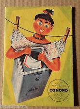 Dépliant Publicitaire pour les Machines à laver CONORD Années 50