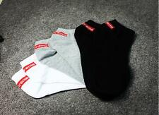 Men's cotton socks 3Pairs summer supreme breathable Ankle socks one size