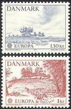 Denmark 1973 Europa/Architecture/Buildings/Farming/Tree/Nature 2v set (n42723)