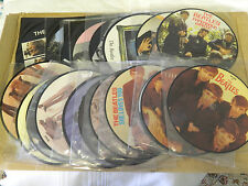 THE BEATLES 20th ANNIVERSARY PICTURE DISC    SET OF 22