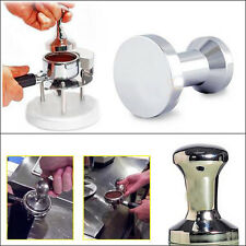 Coffee Barista Espresso Tamper 51mm Base Clear Body Stainless Steel Press New