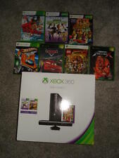 Microsoft Xbox 360 with Kinect 4GB and 7  games