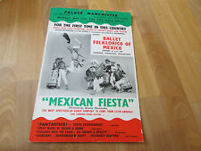 Ballet  FOLKLORICO of MEXICO  Palace Theatre MANCHESTER Original Poster