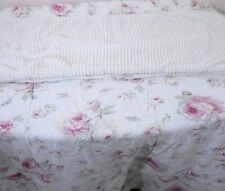 JoJo Designs Baby Girl Crib Quilt Floral Chenille Shabby Chic Cottage