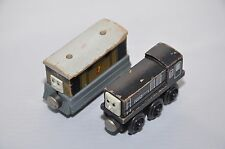 TOBY and DIESEL / 1994 / Early Edition releases / Rare Vintage Thomas wooden