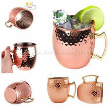 Stainless Steel Moscow Cocktail Wine Cup Milk Mug Cafe Bar Party Plated Copper