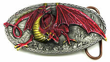 Dragon Belt Buckle Traag Mythical Creature Fantasy Animal Monster Official