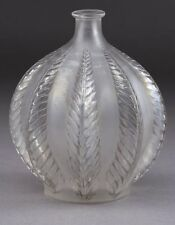 "Beautiful Rare R. Lalique ""Malines"" Clear Opalescent Glass Vase Circa 1924 !!"