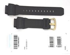 CASIO WATCH BAND: 10390967  BAND FOR G-9300 Black RESIN BAND