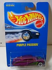 Hot Wheels All Blue Card Purple Passion collector #87