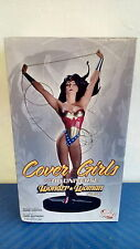*COVER GIRLS OF THE DC UNIVERSE WONDER WOMAN STATUE DIRECT BATMAN ADAM HUGHES
