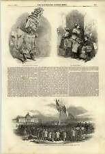 1848 News Vendor On The Boulevards Tree Of Liberty La Voix Des Femmes
