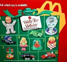 1993 McDonalds Totally Toy Holiday MIP Complete Set - Lot of 9, Boys & Girls, 3+